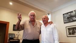 Ken Sheldon and Percy Jones